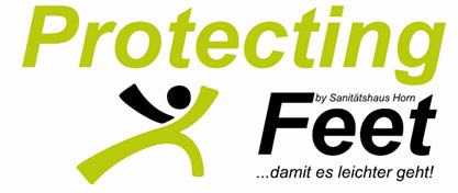 Logo Protecting Feet
